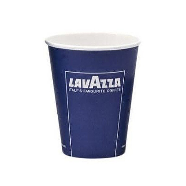 9oz Lavazza branded paper vending cup (1000)