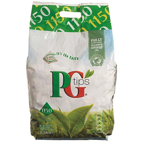 PG Tips pyramid tea bags (pack 1100)