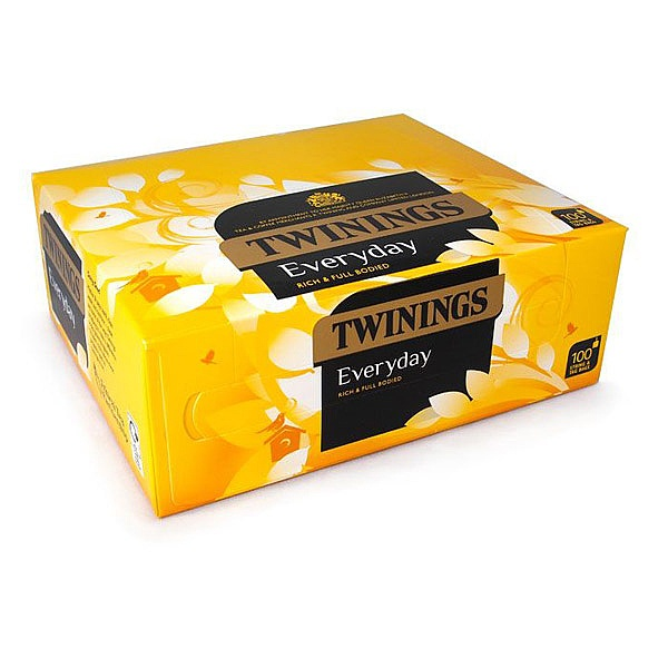 Twinings tagged Everyday tea bags (100)