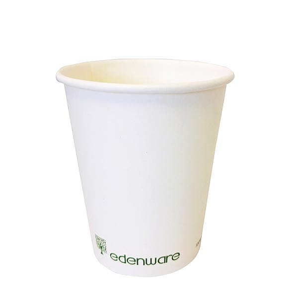 Single Wall Compostable Cups 4oz - 12oz