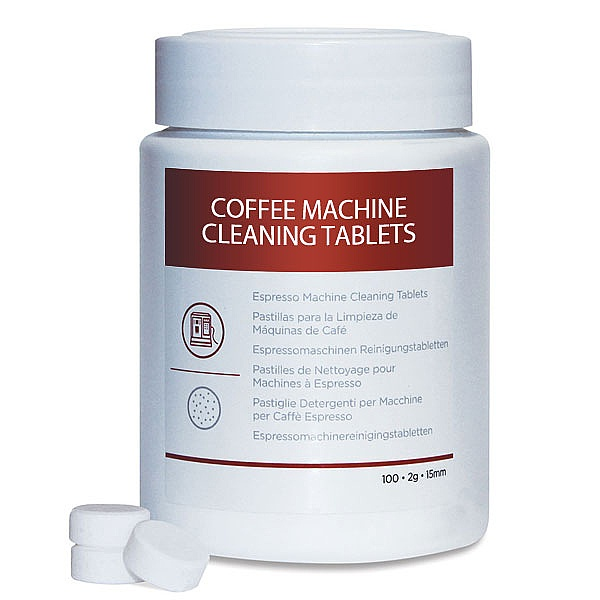 Tub of 100 Jura Coffee machine cleaning tablets
