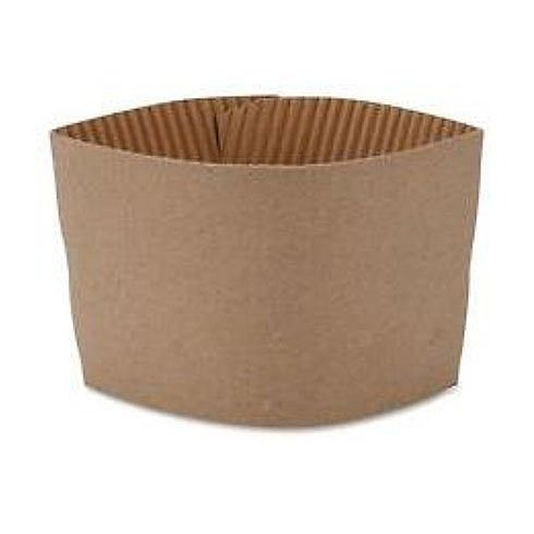 Brown Cardboard Cup Sleeves 8oz