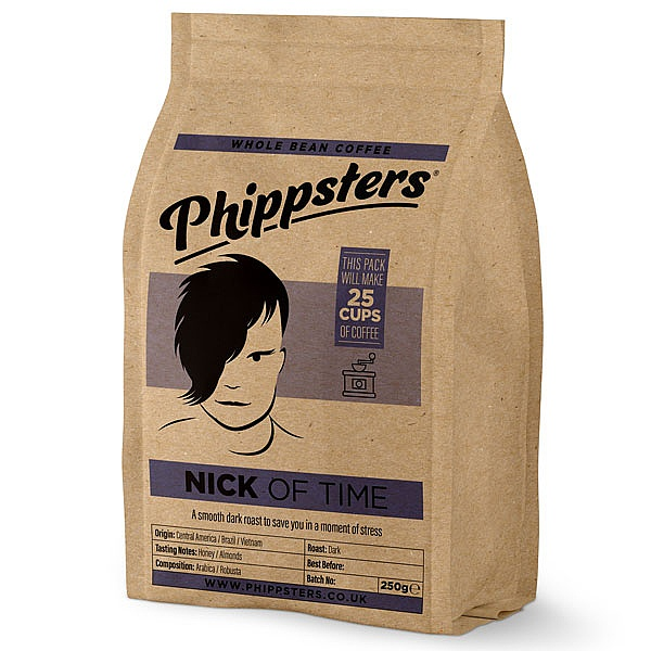 Phippsters Nick Of Time Coffee Beans