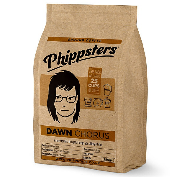 Phippsters Dawn Chorus Ground Coffee