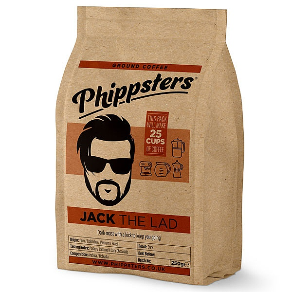 Phippsters Jack The Lad Ground Coffee