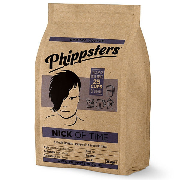 Phippsters Nick Of Time Ground Coffee