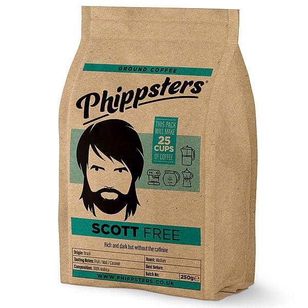 Phippsters Scott Free Ground Coffee