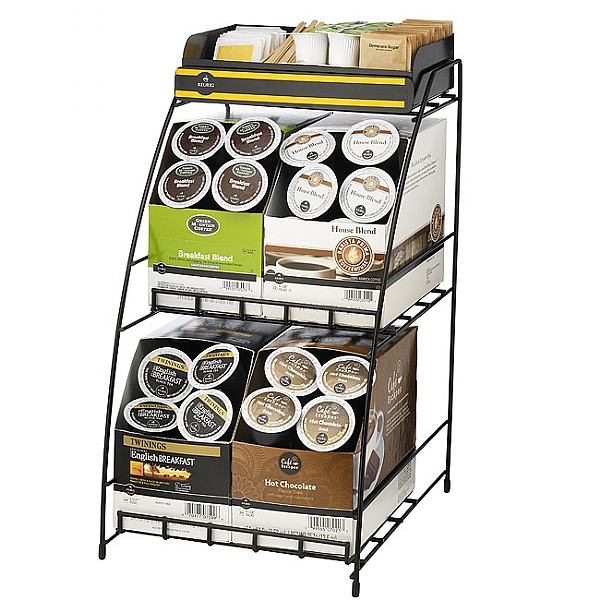 4 Box Wire Storage Rack
