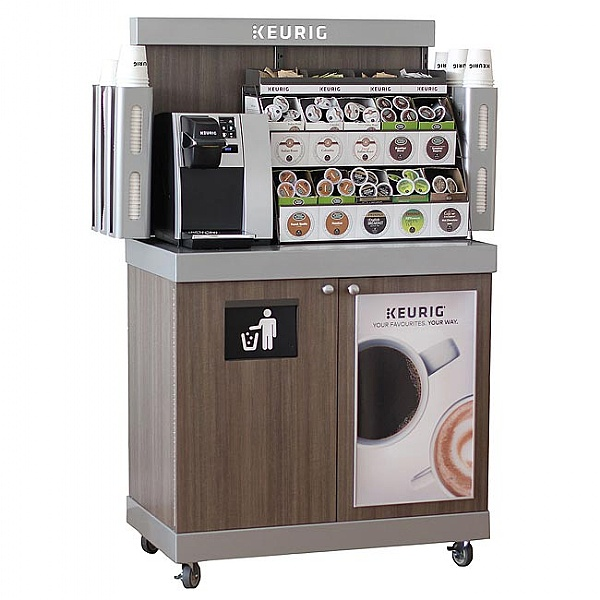 Tiny Craftsman Comes With Espresso Station: Buy Keurig Small Rolling Drink Station K-Cups, Keurig